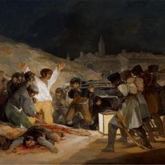 El emblemático cuadro de Francisco de Goya, sobre los fusilamientos del 2 de mayo de 1808